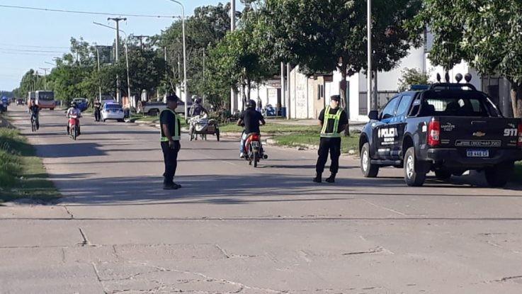 Comenzó el desalojo de las usurpaciones de barrio Guadalupe