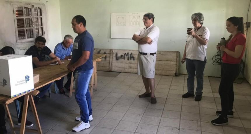 Asunción, Don Carlos, La Loma y Puerto Reconquista tuvieron elecciones