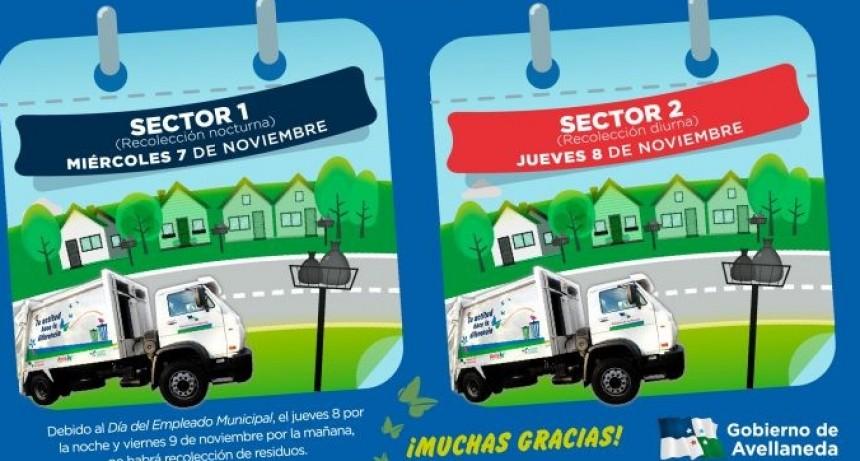 Se reprograma la recolección diferenciada de residuos en Avellaneda