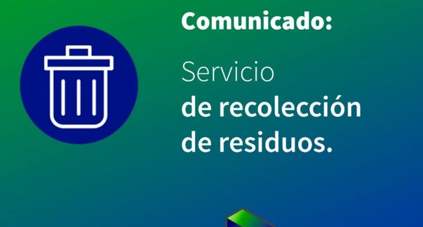 Reprograman recolección de residuos en Reconquista