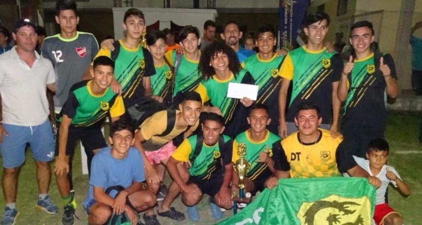 Finalizó la Liga Municipal de Fútbol Adolescente