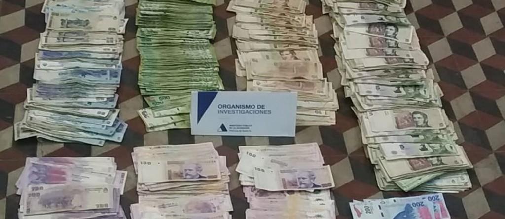 Secuestraron 4 millones de pesos en los allanamientos por el juego clandestino