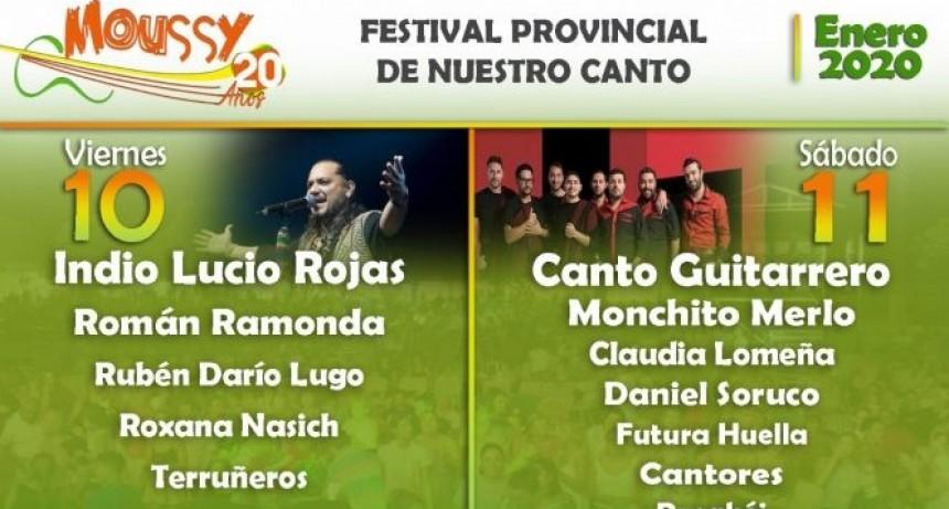 Se viene una nueva edición del Festival Provincial de Nuestro Canto