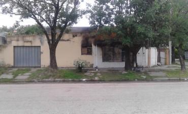 Se  incendió una vivienda en Barrio 314 Viviendas de Reconquista