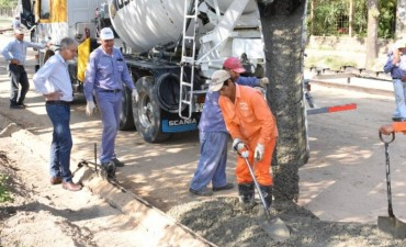 Más asfalto en Avellaneda