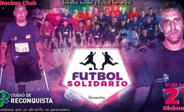 Fútbol Solidario en Reconquista