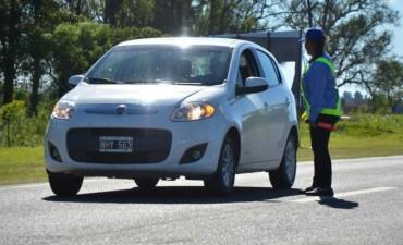 Controles de seguridad vial en las fiestas