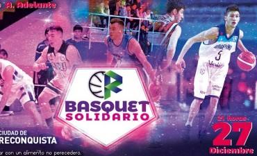 Básquet solidario en Reconquista