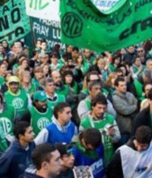 ATE anuncia plan de lucha y Paro Nacional
