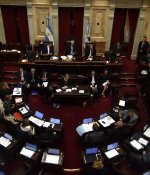 El Senado postergó la sesión