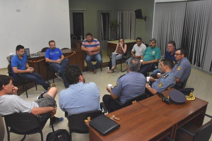 Se  reunió el Consejo de Seguridad en Avellaneda