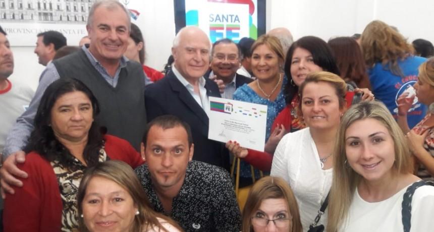 El Centro de Día Raices recibió en reconocimiento provincial
