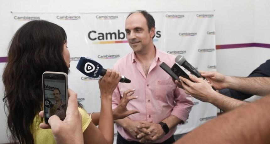 José Corral inauguró en Rosario una casa de Cambiemos