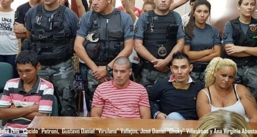 Condenaron a prisión perpetua a los asesinos de Vanesa Zabala