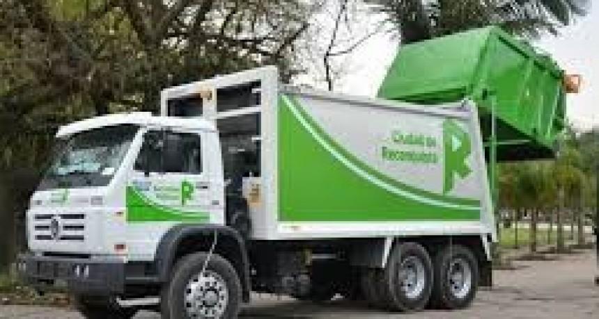 Recoleccion de residuos en Reconquista