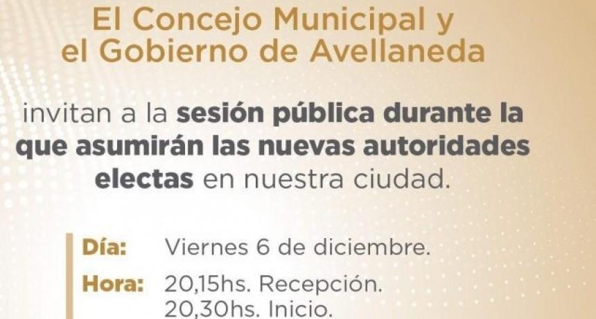 Asumen nuevas autoridades municipales en Avellaneda