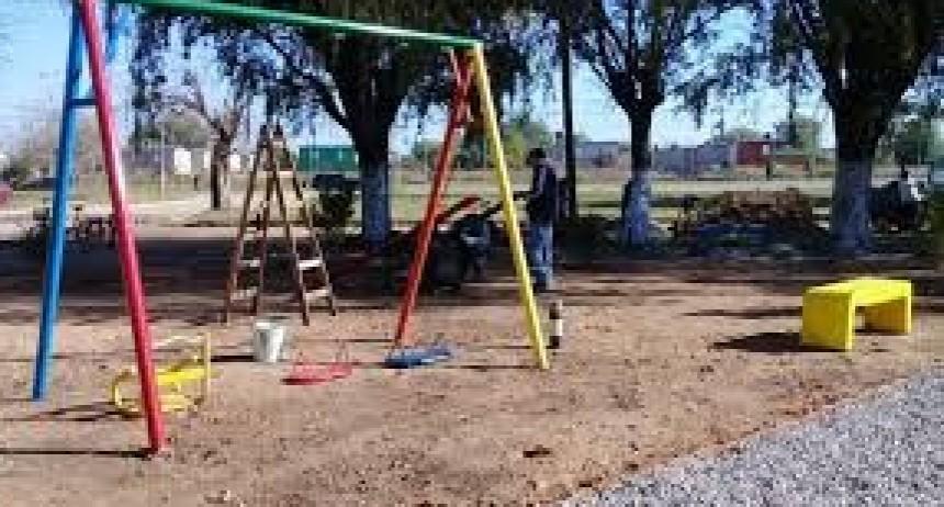 Nueva plazoleta en Barrio La Loma
